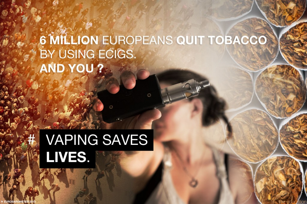 6 million europeans quit tobacco by using ecigs. And you ?